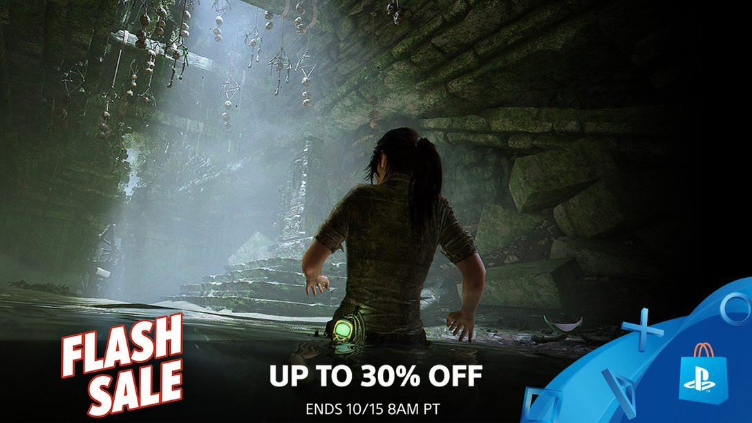Flash Sale! Save up to 30% This Weekend