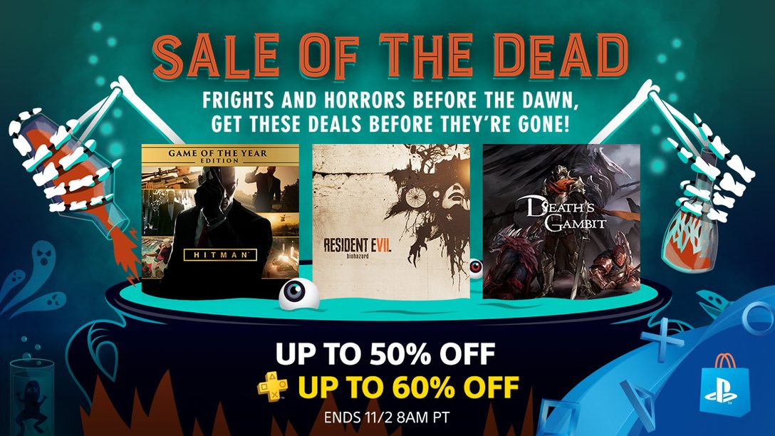 Sale of the Dead: Save up to 50% on Spook-tacular Games