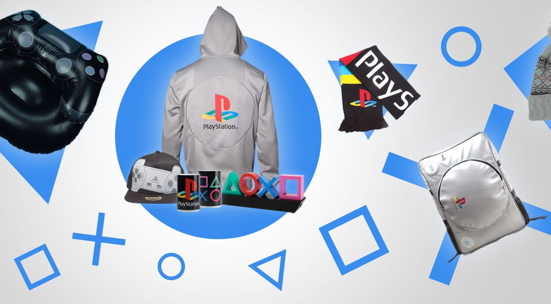 Save up to 50% on great PlayStation merchandise in the new PS Gear sale