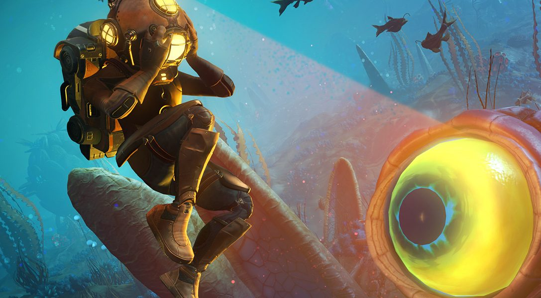 See the new No Man's Sky update, The Abyss, in action ahead of this week's launch
