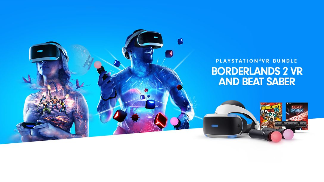PlayStation VR Borderlands 2 VR and Beat Saber Bundle Launches December 14