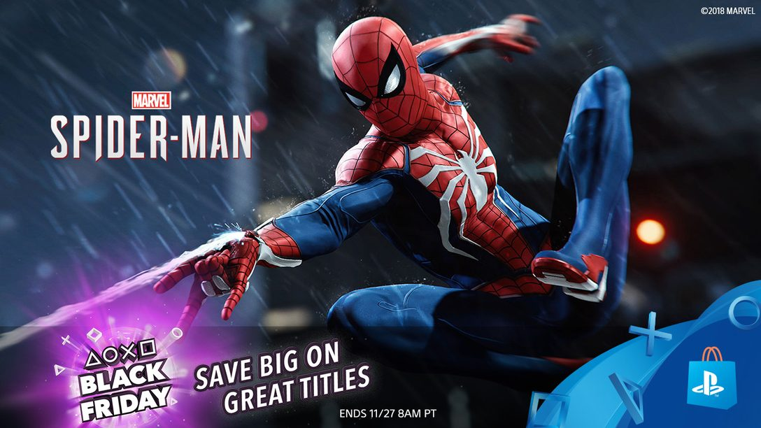 Black Friday Sale at PlayStation Store