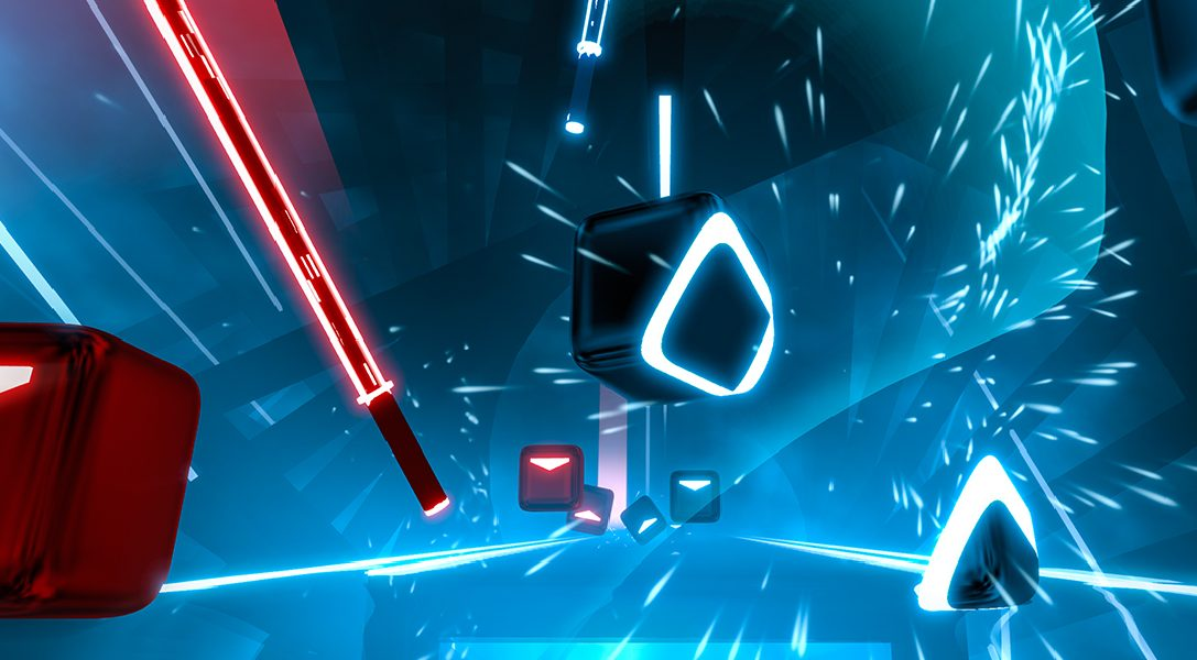 Intense PS VR action-rhythm game Beat Saber release date confirmed