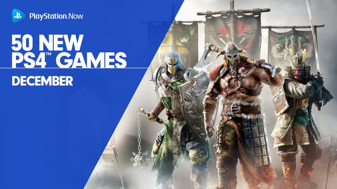 PS Now Adds 50 More PS4 Games, Including For Honor