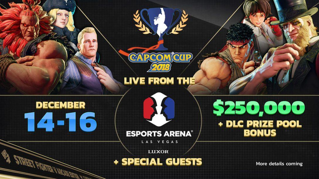 Capcom Cup 2018 Details, Street Fighter V: Arcade Edition Free PS4 Trial
