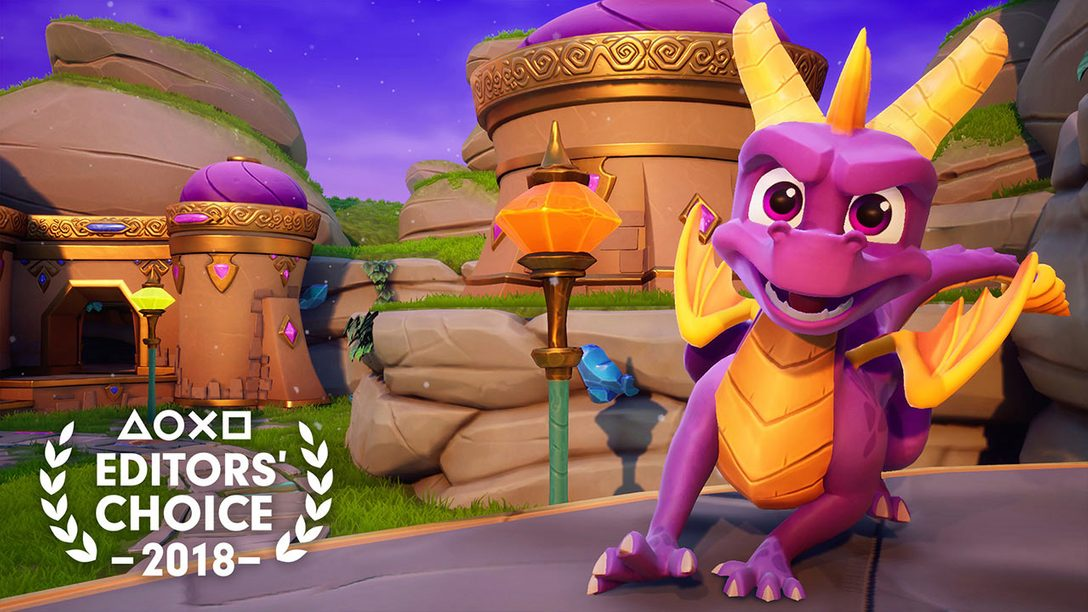 Editors' Choice: Why Spyro Reignited Trilogy is One of 2018's Best Games