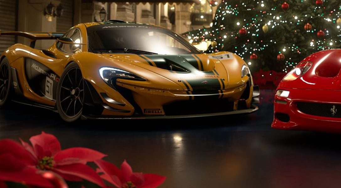 GT Sport's December update features a new track, seven new cars and a seasonal Scapes setting