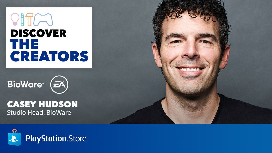 Discover The Creators: 5 Games Casey Hudson Thinks You Should Play
