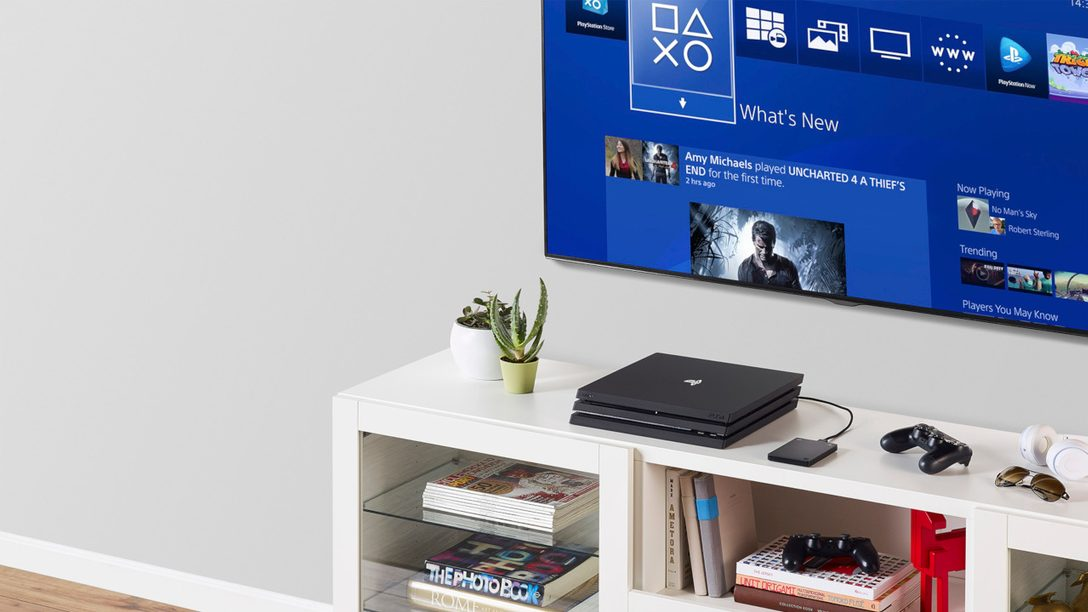 Introducing the New Officially Licensed Seagate Game Drive for PS4