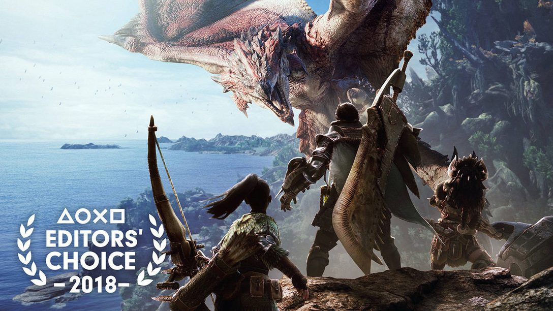 Editors' Choice: Why Monster Hunter World is One of the Best Games of 2018