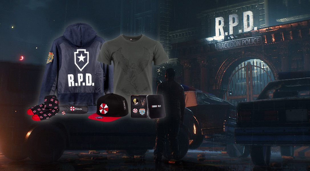 Celebrate Resident Evil 2 S Release With New Ps Gear Merchandise Range Out Now Playstation Blog