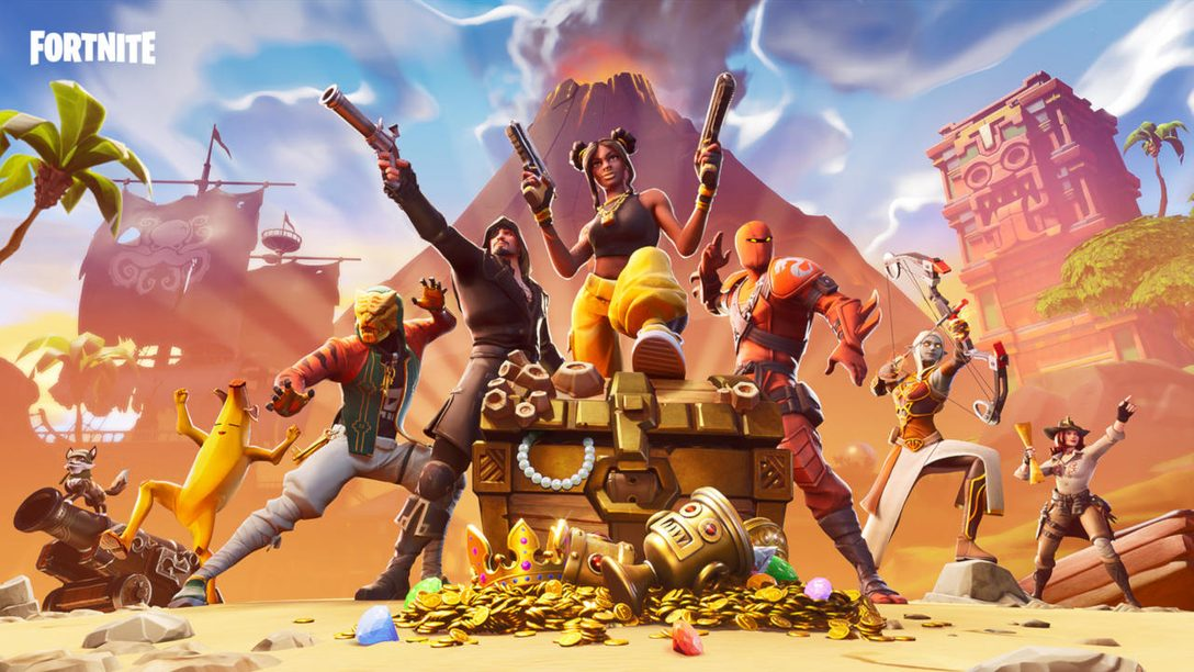 Fortnite Season 8 Adds a Volcano, Party Assist, More Today