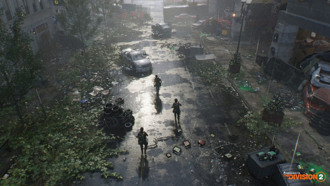 The Division 2: The Full-Scale Construction and Destruction of a City