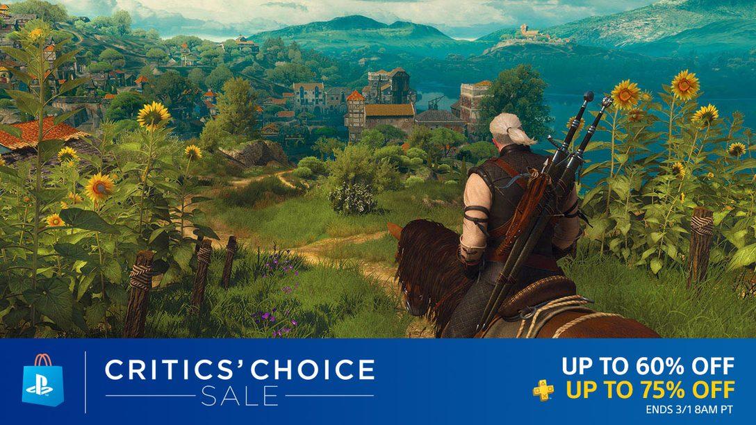 Critics' Choice Sale: Deep Discounts on Prime Picks