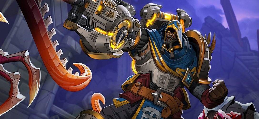 Team-based PS4 fantasy shooter Paladins reveals its new champion, Atlas