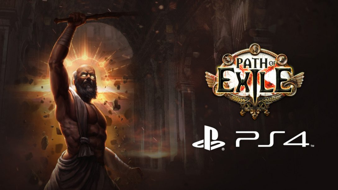 Action-RPG Path of Exile is Out Today on PS4