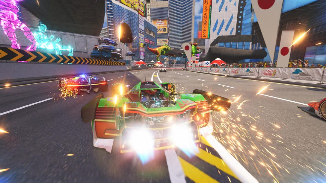 Arcade-Influenced Xenon Racer Launches March 26 on PS4