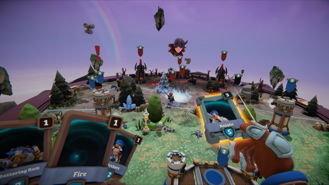 Conquer the VR Battlefield in Skyworld, Out March 26 for PS VR