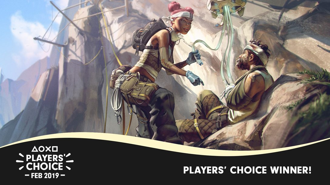 Players' Choice: Apex Legends Was February's Best New Game