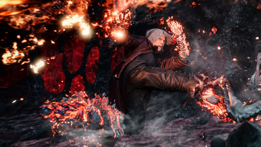 Old Dante, New Tricks: Capcom Talks Devil May Cry 5, Out Today on PS4