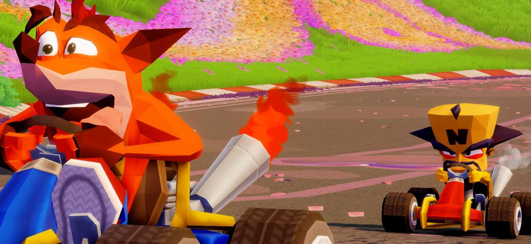 How Crash Team Racing: Nitro Fueled's PS4 exclusive retro items were created