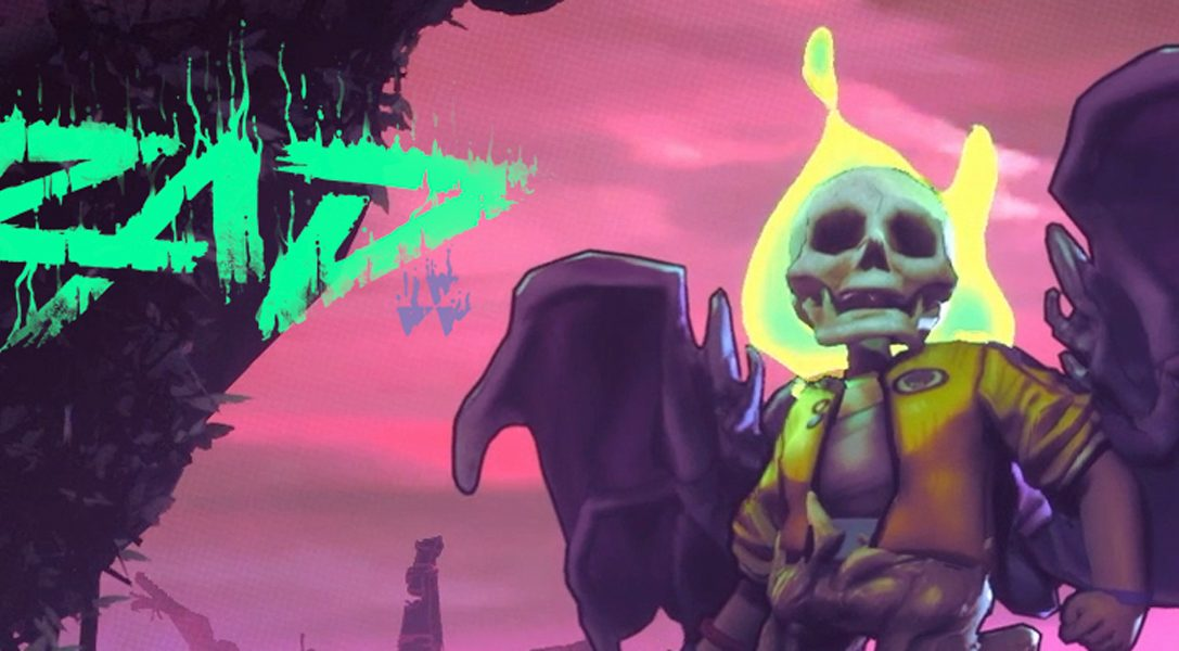 Use bizarre mutations to fight across a rogue-like wasteland in Double Fine's RAD, coming to PS4 soon