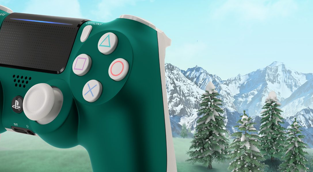 Introducing the new Special Edition Alpine Green DualShock 4