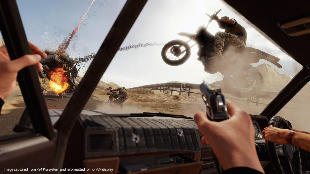 Blood & Truth Brings Action Movie Moments to Life in PS VR
