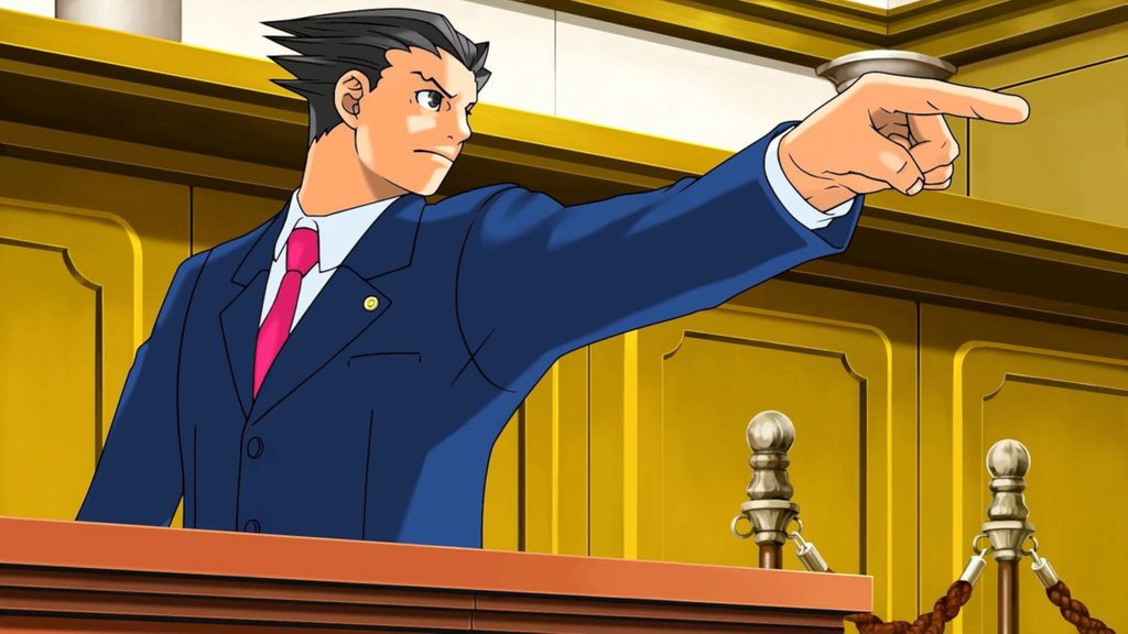 ace attorney courtroom bench