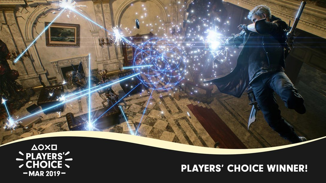 Polls Closed: Devil May Cry 5 Was the Best New Game of March 2019
