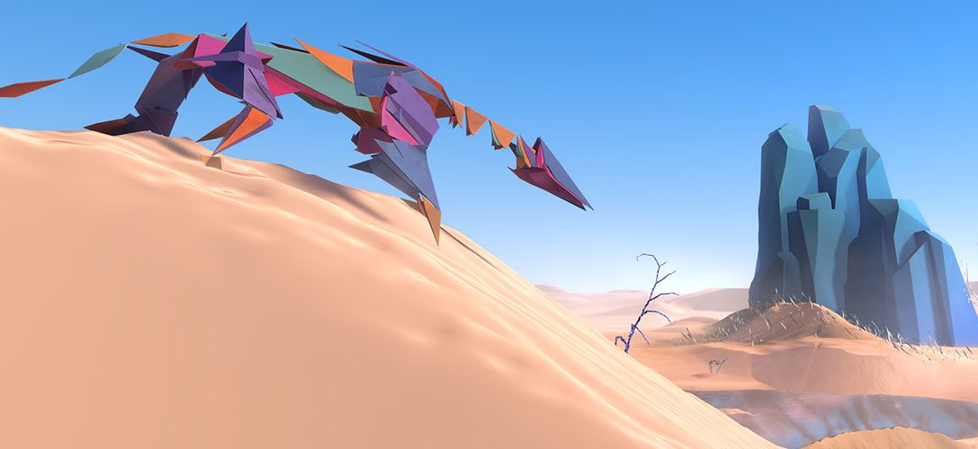 The creator of classic adventure Another World returns with Paper Beast, coming to PS VR this year