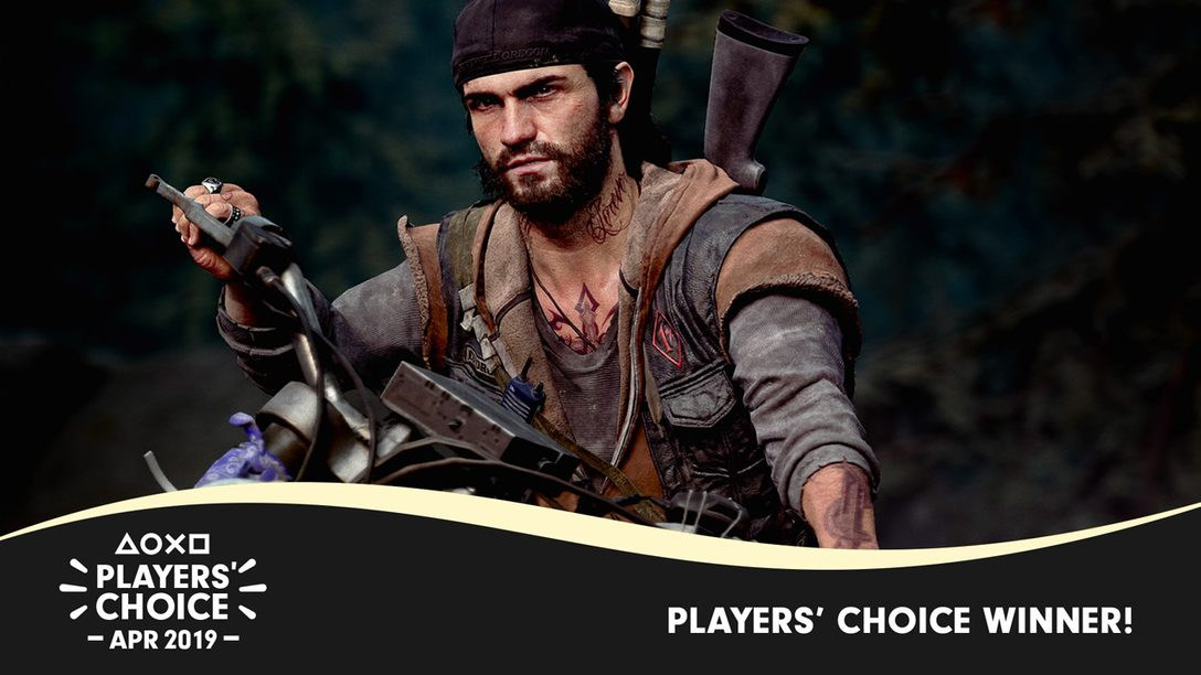 Players' Choice: Days Gone Voted April's Best New Game