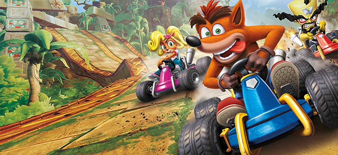 Get your first look at Crash Team Racing: Nitro-Fueled's PlayStation exclusive track
