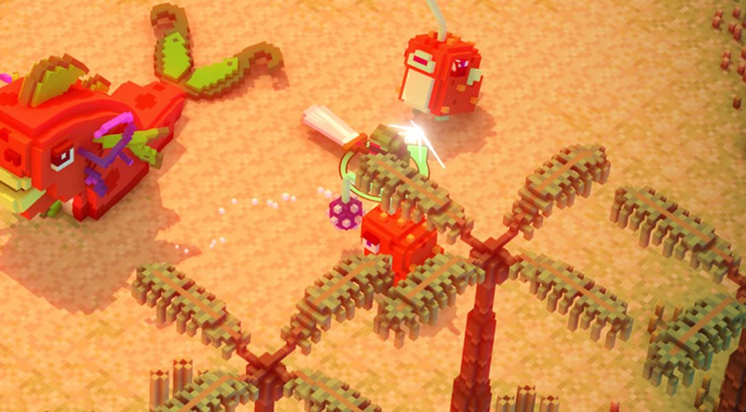 Riverbond is a cute voxel-based shoot-and-slash coming to PS4 this summer