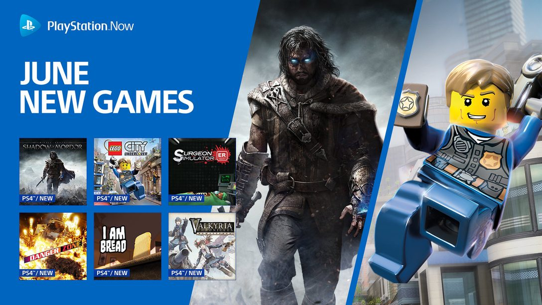 Middle-earth: Shadow of Mordor and More Come to PS Now in June