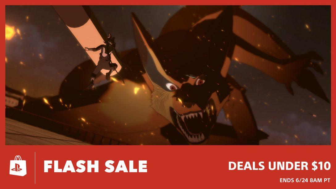Flash Sale! Deals Under $10 at PS Store