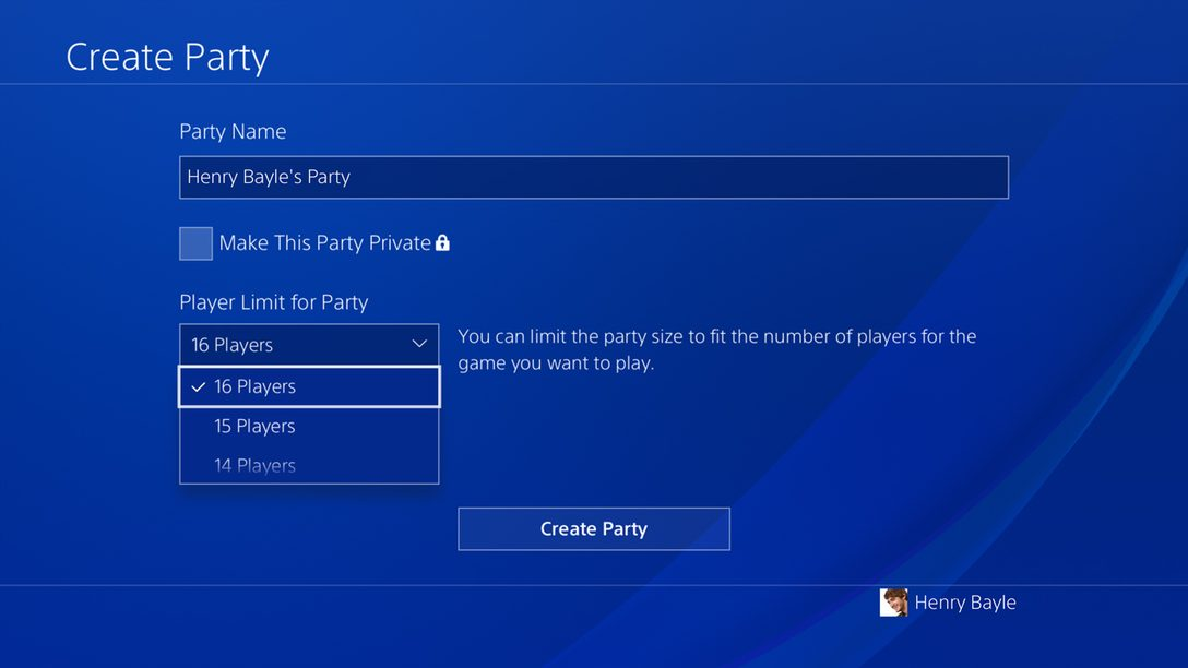 Join the PlayStation Preview Program for a Chance to Get Early Access to Updated Party Features