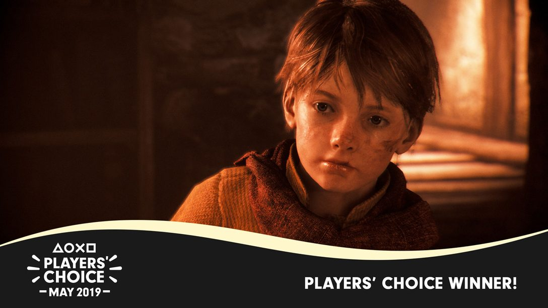 Players' Choice: A Plague Tale: Innocence Voted May's Best New Game