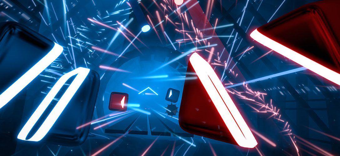 This is how Beat Saber's awesome rhythm-action stages are built