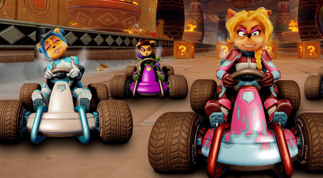 Crash Team Racing: Nitro-Fueled gets new tracks & characters as post-launch DLC from next month
