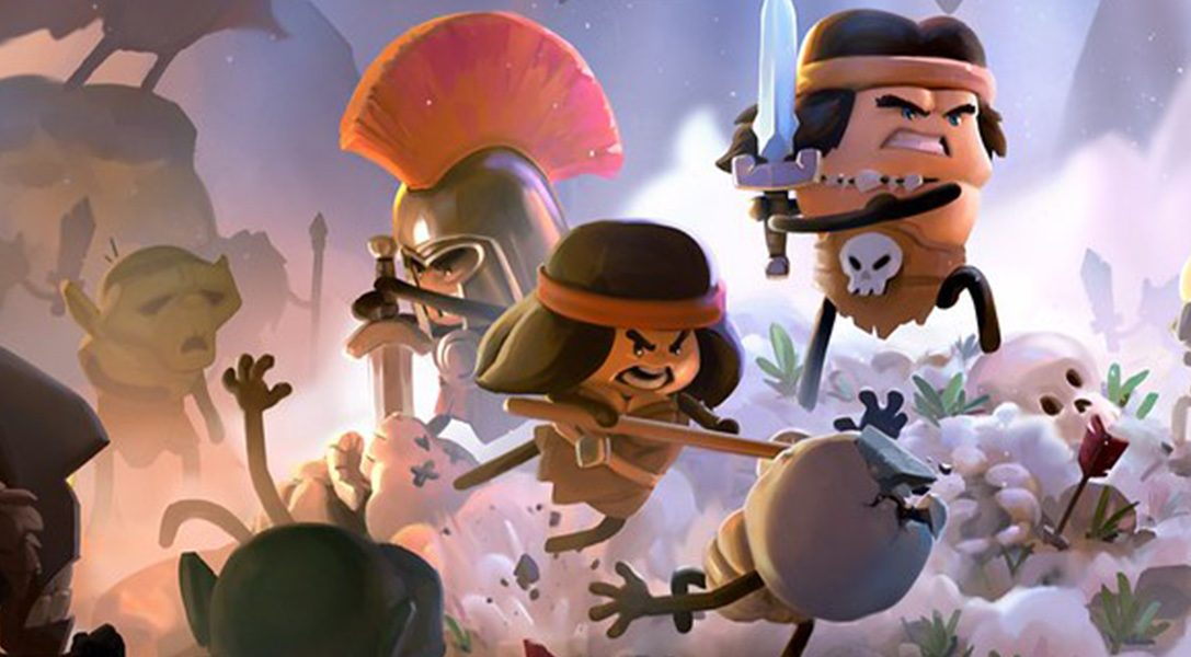 Conan Chop Chop turns the iconic Barbarian's adventures into a multiplayer roguelike with stick figures