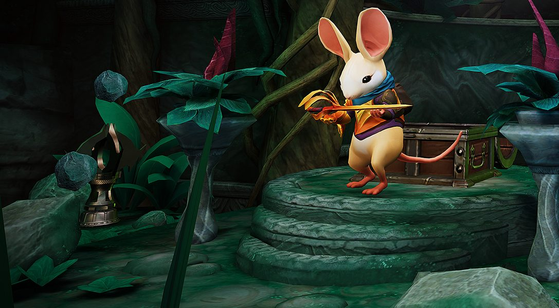 PS VR adventure Moss gets an all-new chapter in today's free update