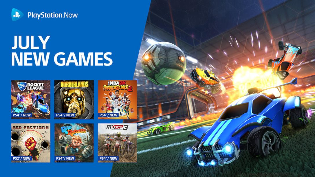 Celebrate 4th of July with Rocket League, Borderlands, and more in PS Now