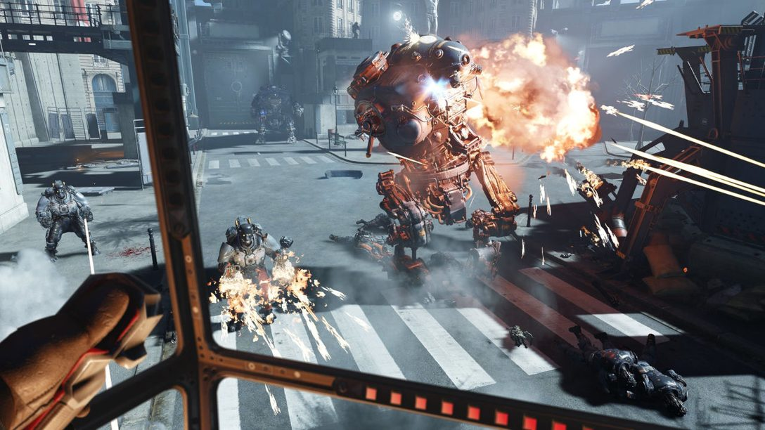Hack Into Wolfenstein: Cyberpilot, Available in PS VR Tomorrow