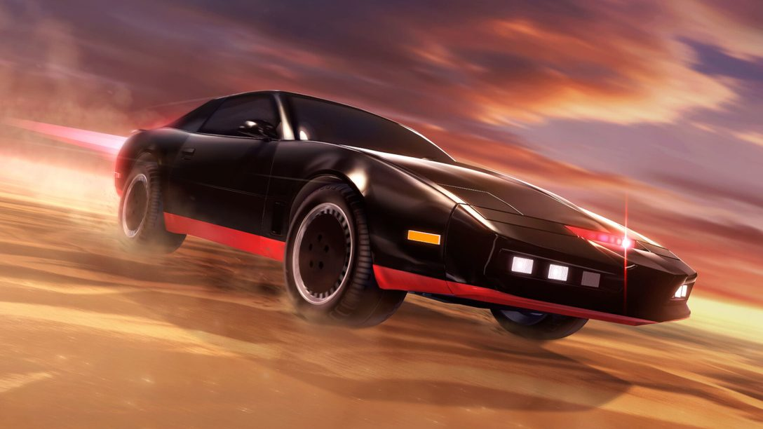 Under the Hood With Knight Rider's K.I.T.T. in Rocket League