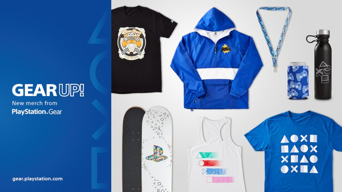 Keep Cool With PlayStation Gear Store's New Summer Lineup