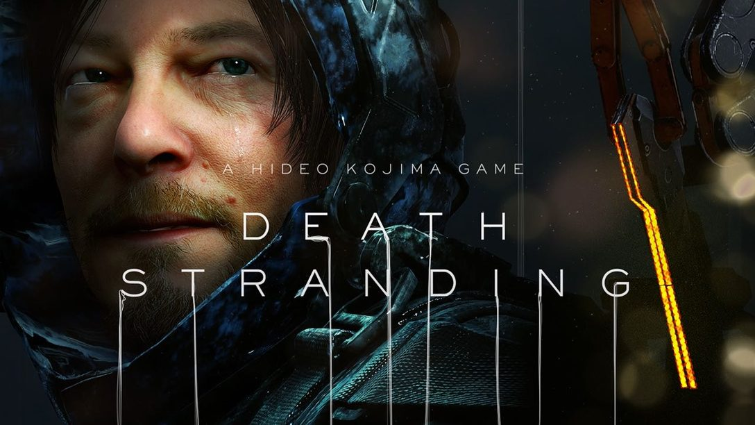 Death Stranding: Hideo Kojima Reveals Cover Art & More at SDCC