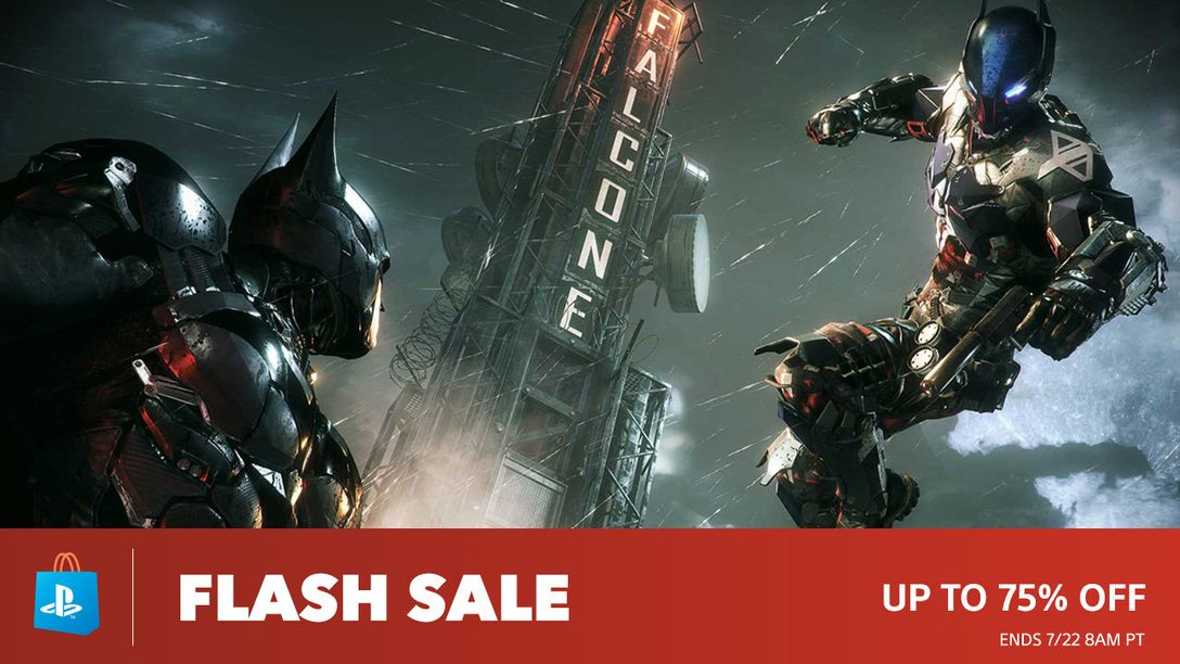 Flash Sale! Deals up to 75% at PS Store