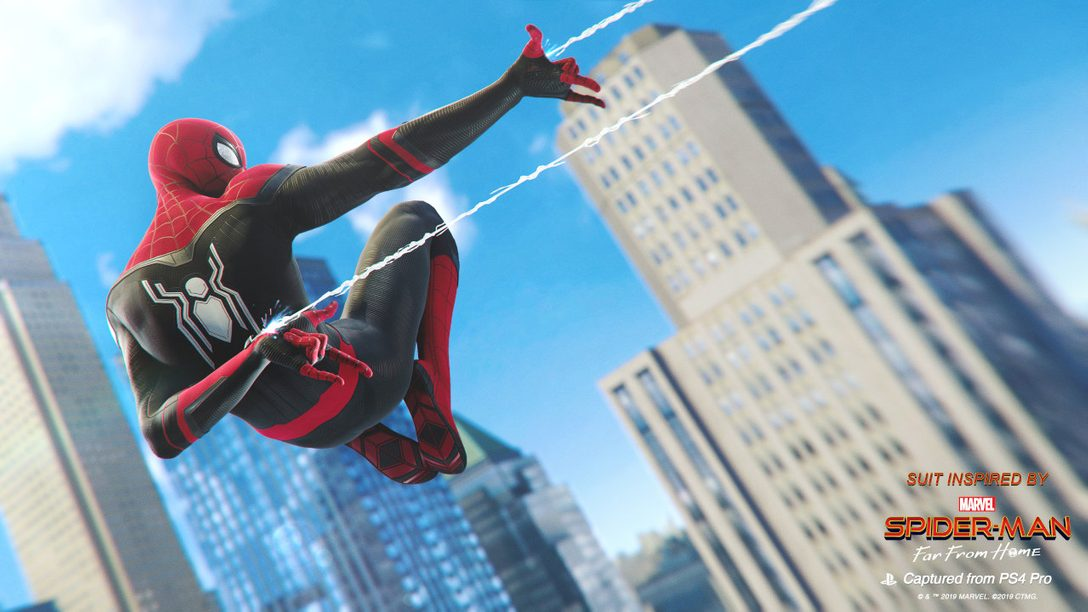 Far From Home Swings into Marvel's Spider-Man