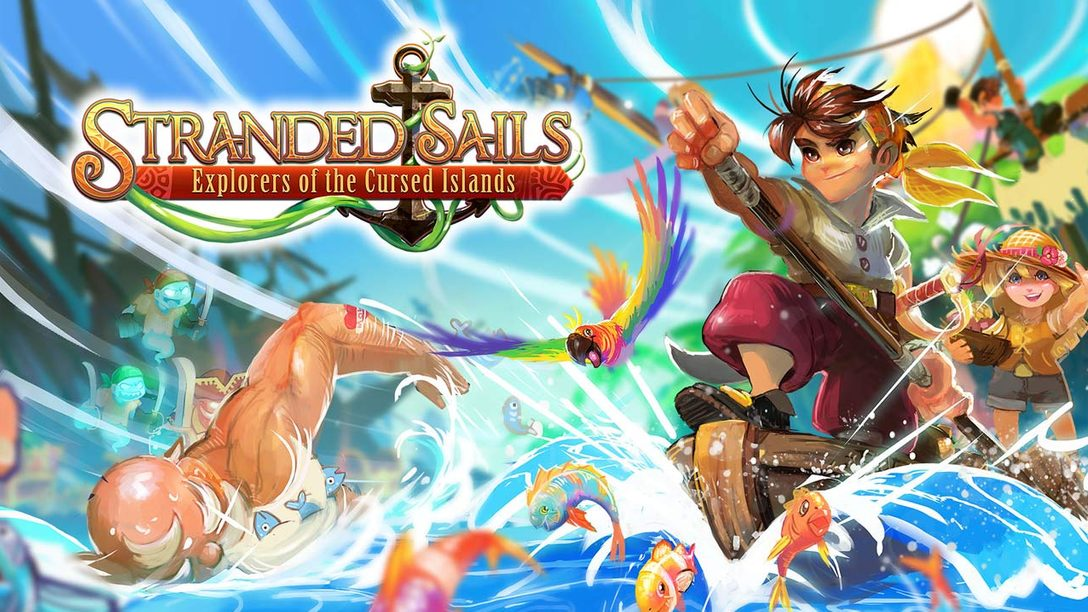 Farm, Craft and Explore in Stranded Sails – Explorers of the Cursed Islands, Out October